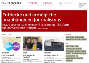 Screenshot Kautreporter.de