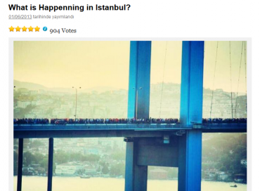 "Reblogging: ""What is Happenning in Istanbul?"""