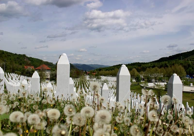 Friedhof in Potocari. Foto: J.Behrens